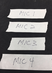 Mixer Labeling Tape for your Soundbooth